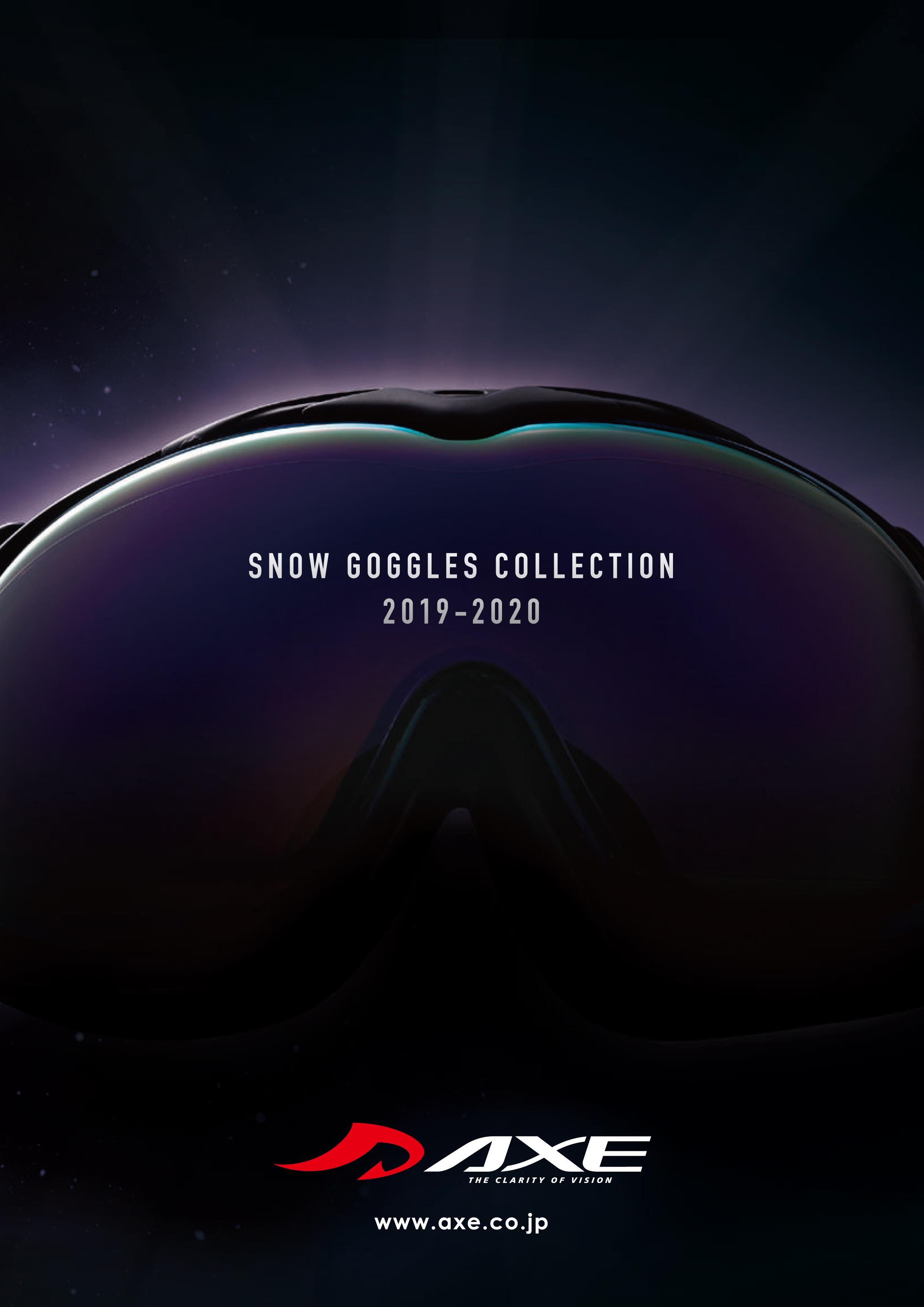 2019-2020ゴーグルカタログ